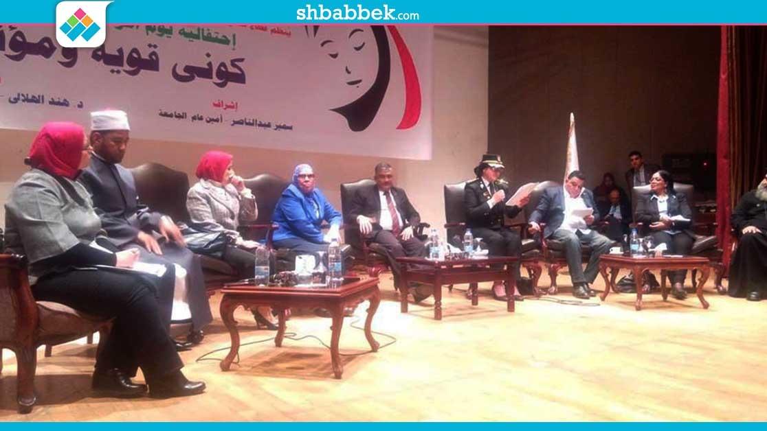 رسائل من الداخلية والأزهر والكنيسة في الاحتفال بيوم المرأة المصرية «صور»