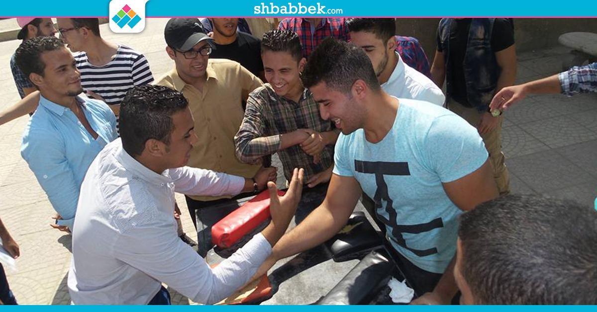 صور| «ريست وطين صلصال».. أنشطة طلاب حلوان بأسبوع الاستقبال