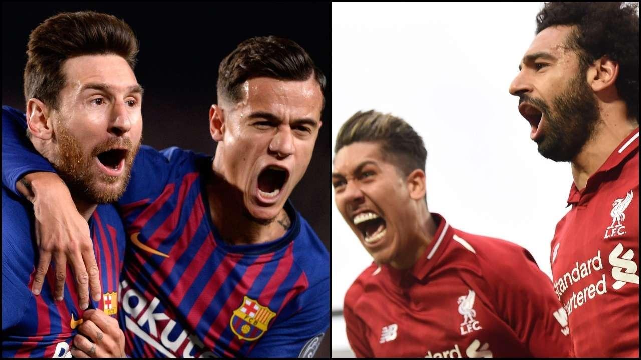 ملخص مباراة برشلونة وليفربول barcelona vs Liverpool (فيديو)