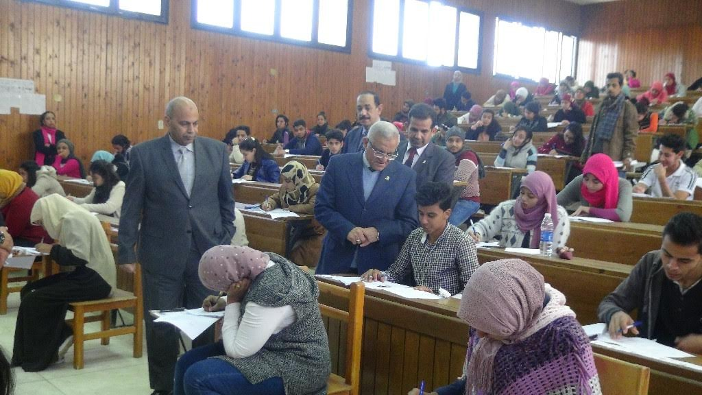 تعرف على عقوبات 109 حالة غش في جامعة المنيا