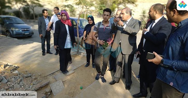 رئيس جامعة الأزهر: إنشاء مكتبات وحمامات أسفل الكوبري أمام فرع البنات