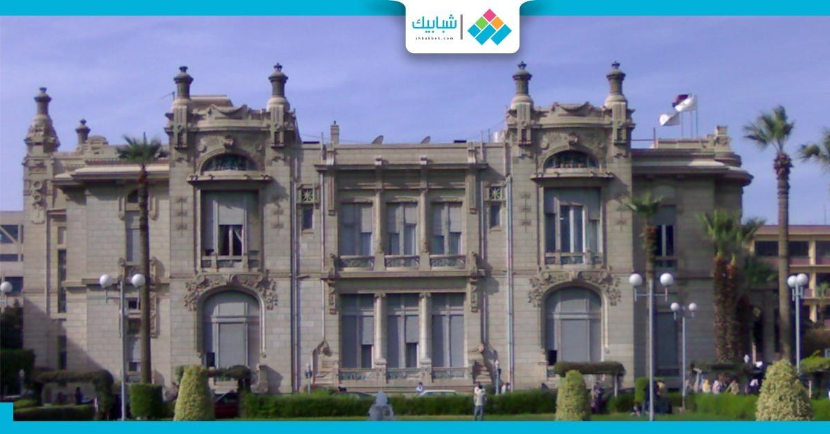 القبض على المتهم بسرقة قصر الزعفران في جامعة عين شمس