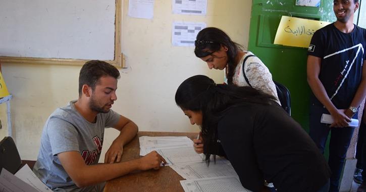 نسبة التصويت في انتخابات اتحاد طلاب جامعة سوهاج 11.7%