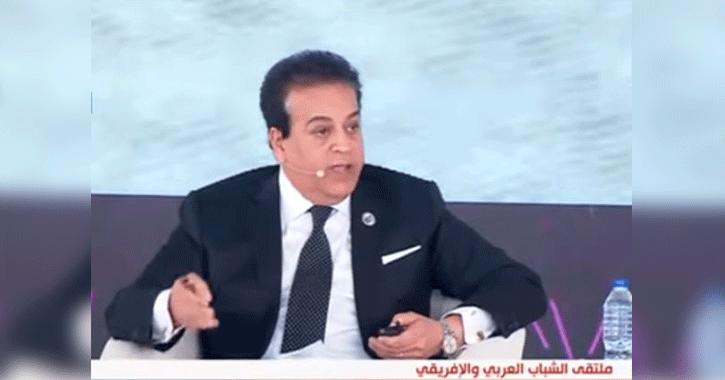 وزير التعليم العالي: ميكنة جميع امتحانات الكليات الطبية بتوجيه من «السيسي»
