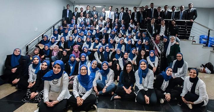 فريق «Eng break» الطلابي يطلق فاعليات عامه الثامن من جامعة النيل (صور)