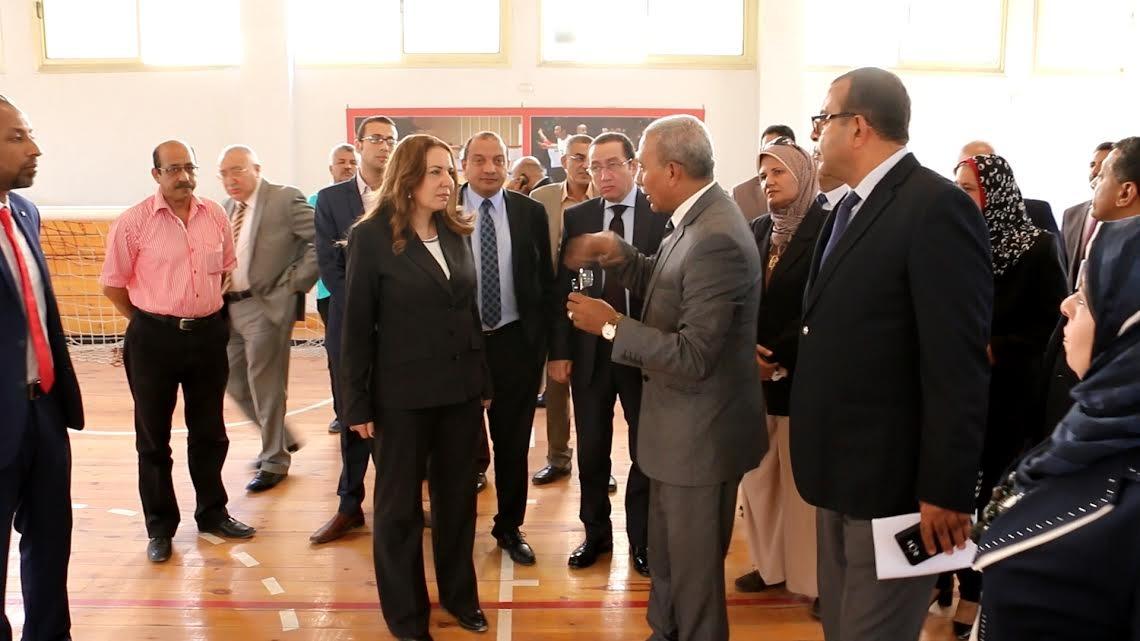 لجنة تقييم الجامعات المصرية تزور جامعة بني سويف