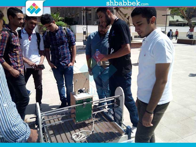 معرض اختراعات طلاب كلية الهندسة جامعة أسيوط