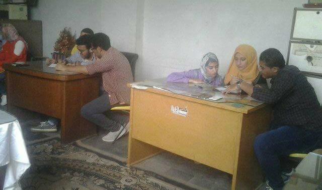 جامعة المنصورة تقيم مسابقة دوري المعلومات لطلاب الكليات