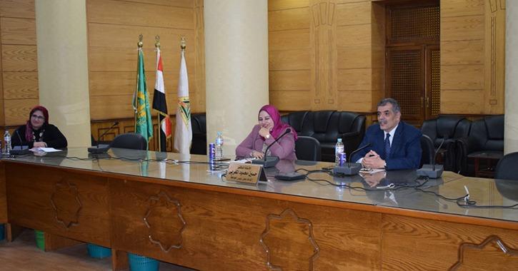 جامعة بنها تستعد لتنفيذ مبادرة «صنايعية مصر» (صور)