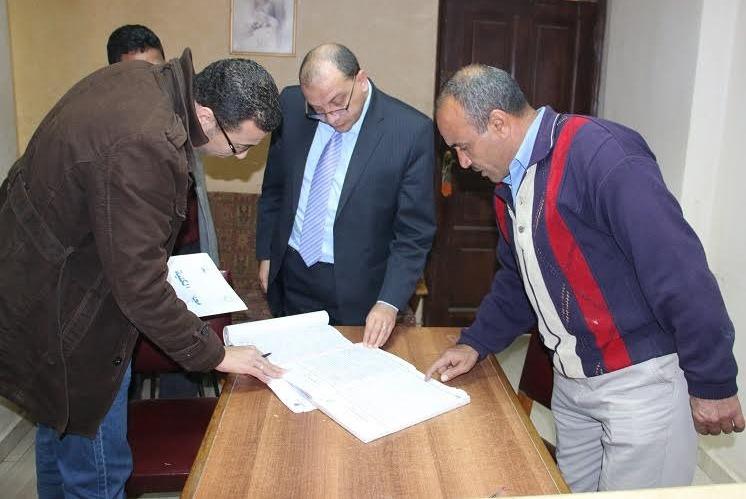 رئيس جامعة بنى سويف يتفقد دار الضيافة ويحيل موظفين للتحقيق