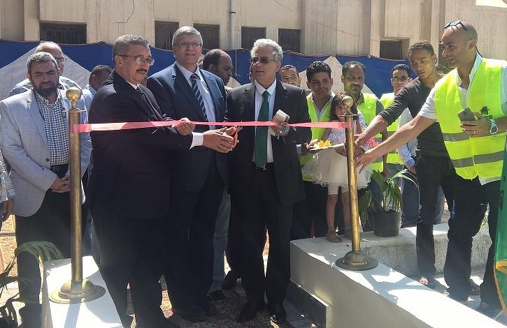 رئيس جامعة القاهرة يفتتح شبكة إطفاء حرائق بتكلفة 15 مليون جنيه (صور)