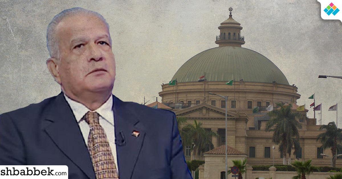 جامعة القاهرة توضح موقفها من الدكتور حازم حسني المتحدث باسم سامي عنان