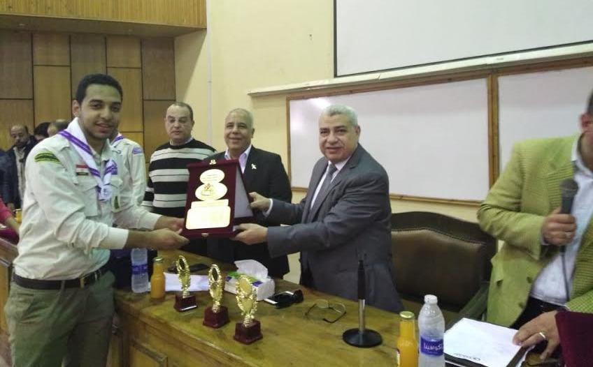 نتائج مهرجان الجوالة الكشفي في جامعة طنطا