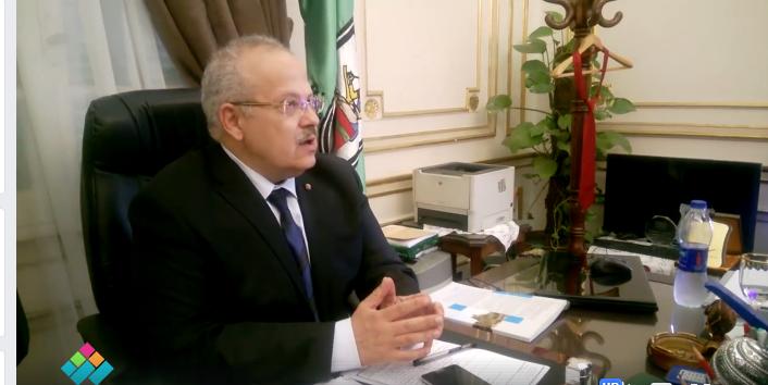 أول تصريح لرئيس جامعة القاهرة الجديد
