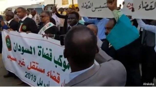 القضاة في السودان يدخلون في إضراب عام بجميع المحاكم