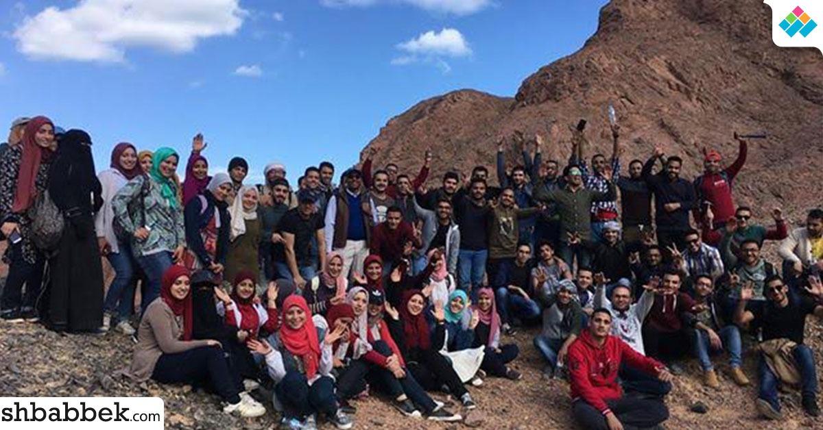 بالصور.. علوم المنوفية في رحلة بحثية لجبال البحر الأحمر