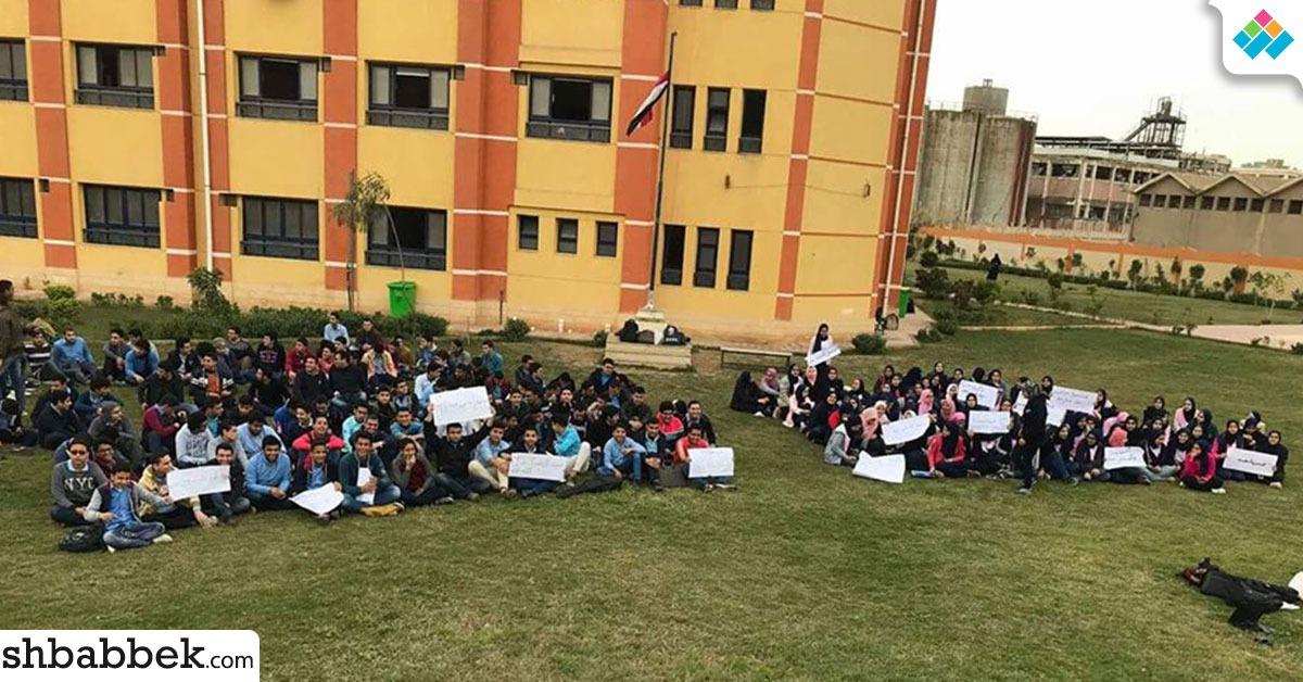 اعتصام طلاب مدارس المتفوقين لحل مشاكلهم (فيديو)