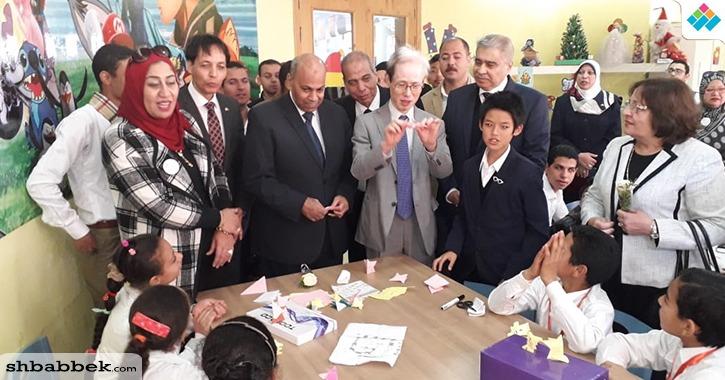 رئيس جامعة المنيا يشارك في افتتاح «اليوم المصري الياباني» (صور)