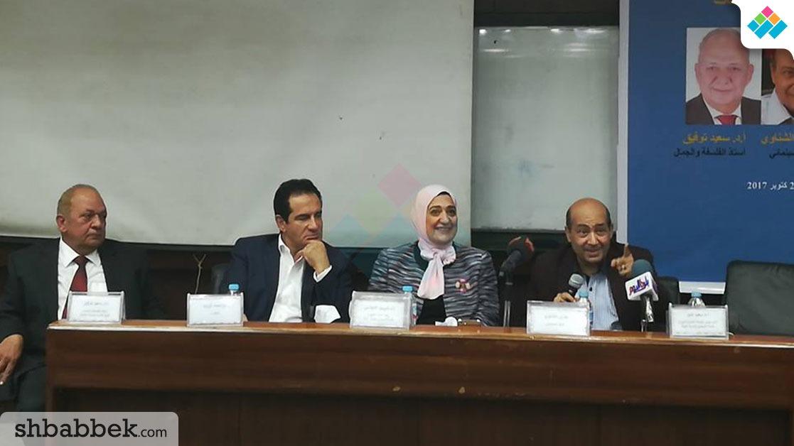ناقد سينمائي في ندوة بجامعة القاهرة: الفن لا يُقيّم بالدين والأخلاق