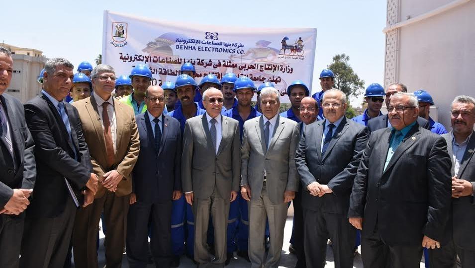 «العصار» يفتتح محطة طاقة شمسية بجامعة القاهرة.. و«نصار»: نجهز لمشروع «الصنابير»