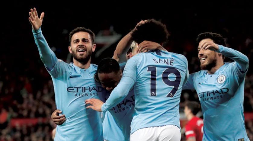 نتيجة مباراة مانشستر سيتي ضد ليستر سيتي في الدوري الإنجليزي.. الصدارة زرقاء