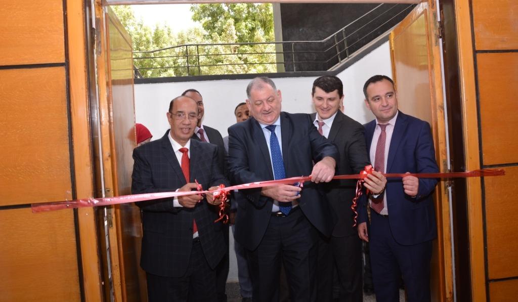 افتتاح أول مركز لتعليم اللغة الروسية في جامعة أسيوط