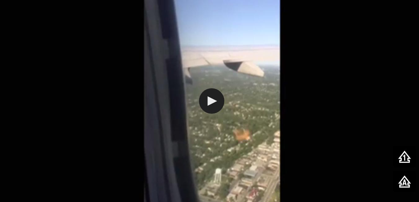لحظات مرعبة على متن طائرة أميركية والشركة تعرض على الركاب تعويض (فيديو)