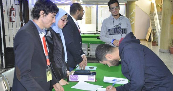 كلية حاسبات جامعة قناة السويس تنظم ملتقى لتوظيف الطلاب