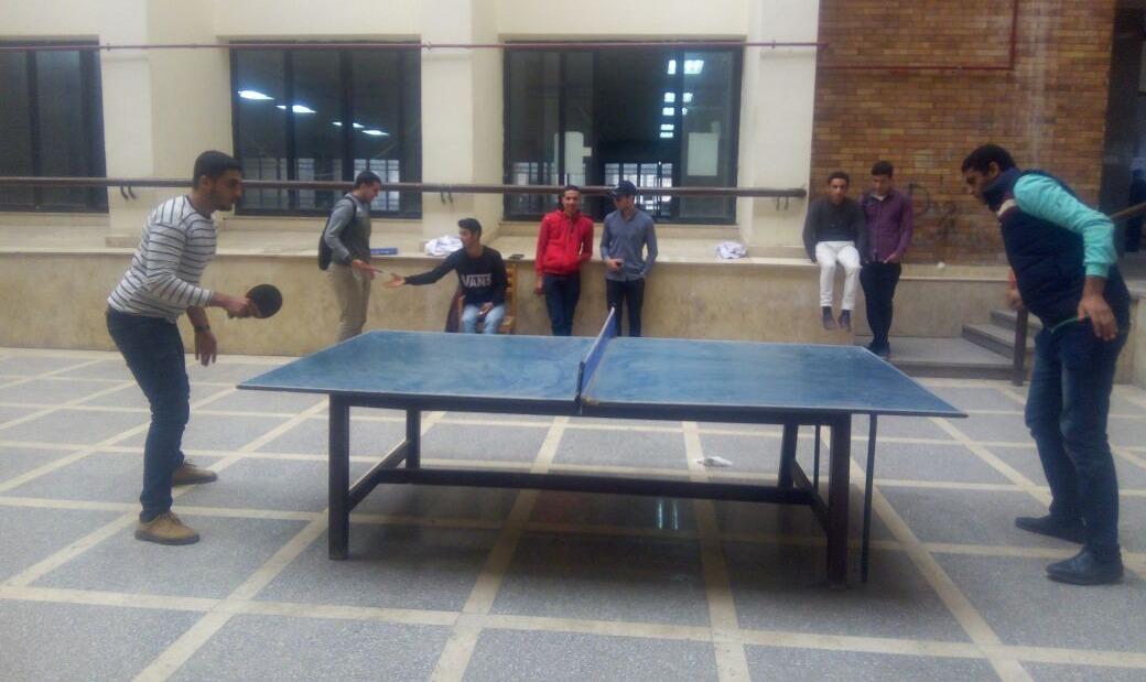 اتحاد دمنهور يجري اختبارات لاختيار منتخب الجامعة في «تنس الطاولة»