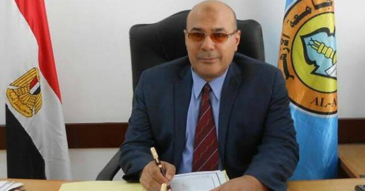 عميد كلية الإعلام مشرفا على المركز الإعلامي بجامعة الأزهر