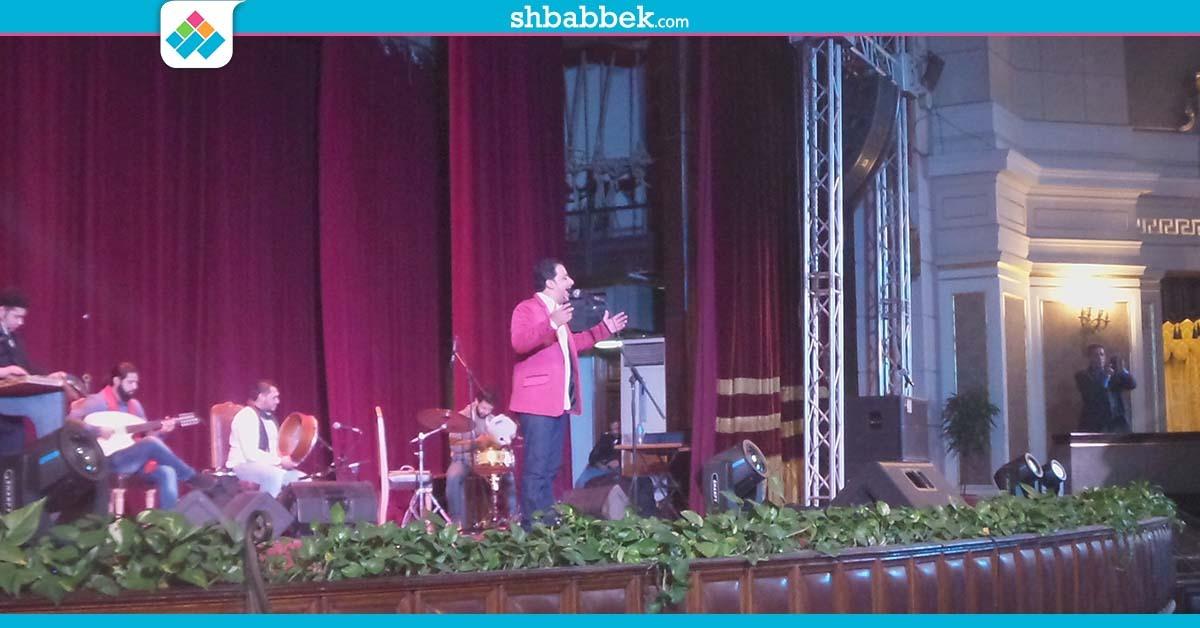 حفل على الهلباوي بجامعة القاهرة