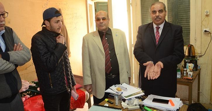 رئيس جامعة الأزهر يتفقد مدينة الطلاب.. ماذا حدث في الجولة؟ «صور»