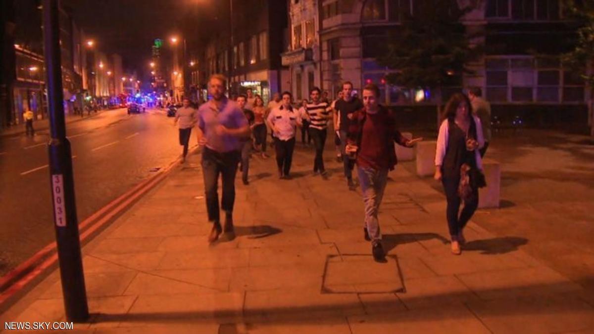 شاهد|  5 جرحى في حادث دهس على «جسر لندن» وأنباء عن اطلاق نار