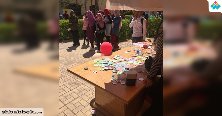اتحاد جامعة بورسعيد يستقبل الطلاب الجدد بـ«البلالين»