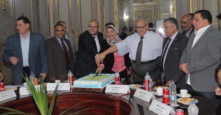 بروتوكول تعاون بين جامعة عين شمس ووحدة تطوير التعليم العالي بالوزارة