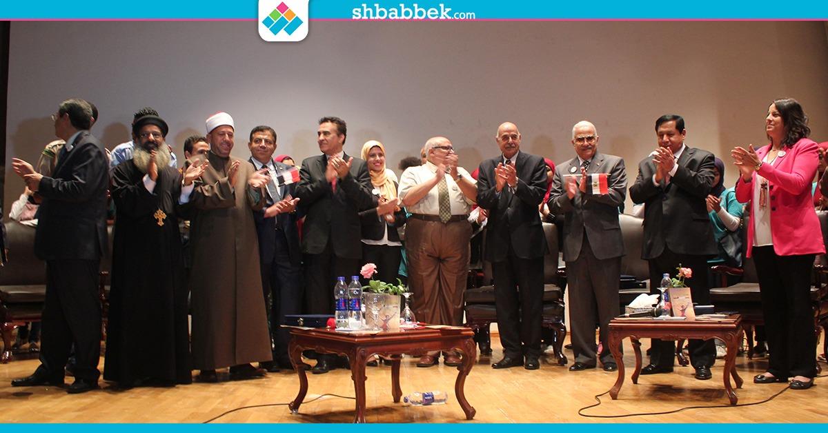 احتفال بنصر أكتوبر في جامعة عين شمس