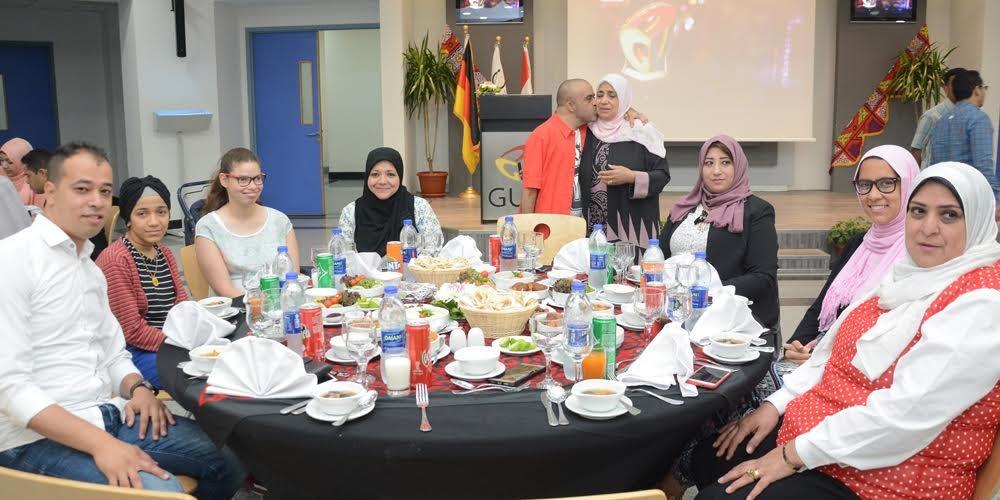 الجامعة الألمانية بالقاهرة تنظم حفل إفطار لذوي الاحتياجات الخاصة
