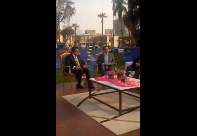 لقاء مفتوح مع وزير التعليم العالي في جامعة عين شمس بحضور الإعلامي خيري رمضان