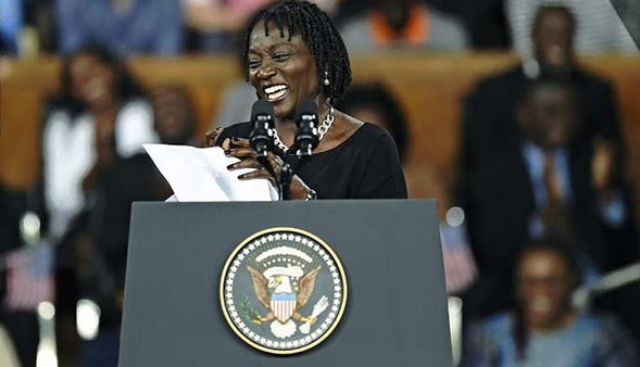 شقيقة أوباما من جامعة هليوبوليس: «مجلس مستقبل العالم مهمته تحسين جودة الحياة»