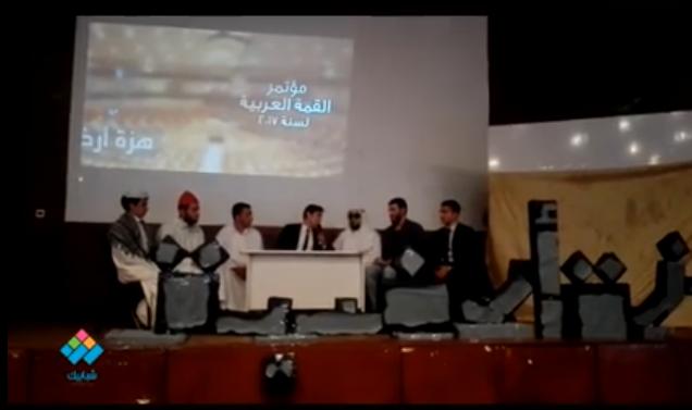 عرض مسرحي ساخر لطلاب جامعة الأزهر