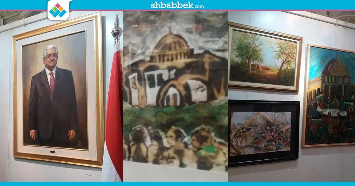 «فنانو مصر يرسمون فلسطين».. فنون الإسكندرية تحيي ذكرى النكبة الفلسطينية (صور)