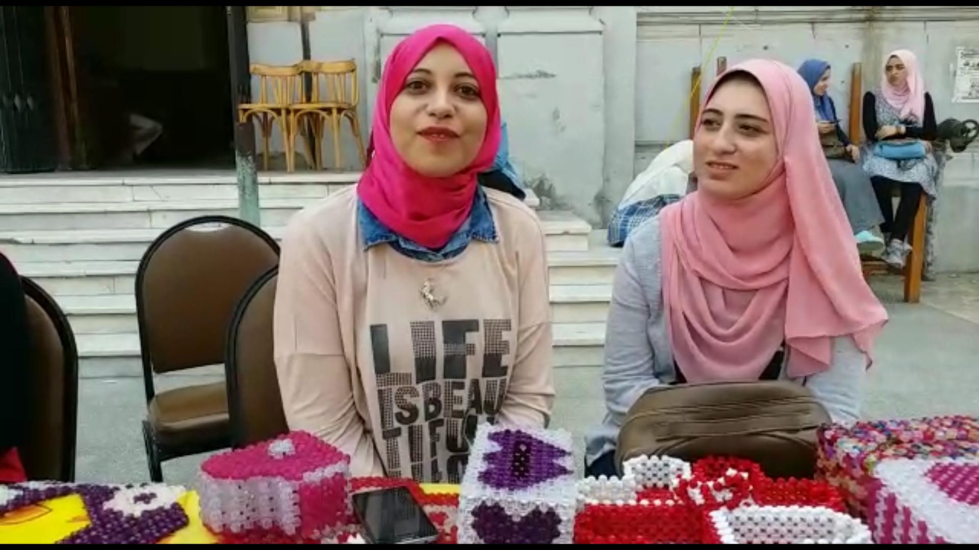 فاطمة محمد.. طالبة تحكي قصة استثمارها داخل جامعة القاهرة