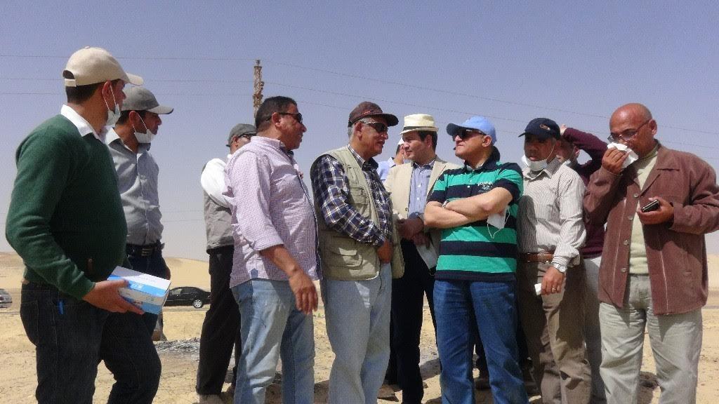 رئيس جامعة المنيا يتفقد أعمال الترميم والحفريات بمنطقة «تونا الجبل»