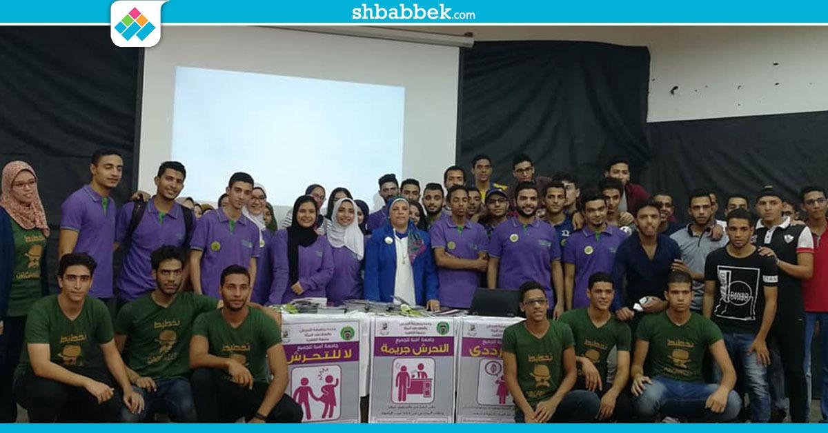 «تخطيط عمراني القاهرة» تحتفل بطلابها الجدد (صور)