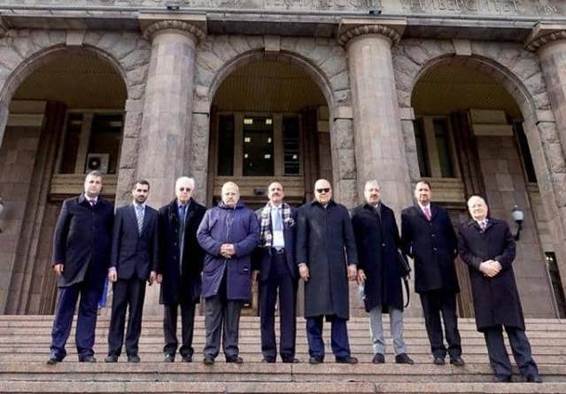 جامعة موسكو تمنح رئيس جامعة القاهرة الدبلوم الفخرية