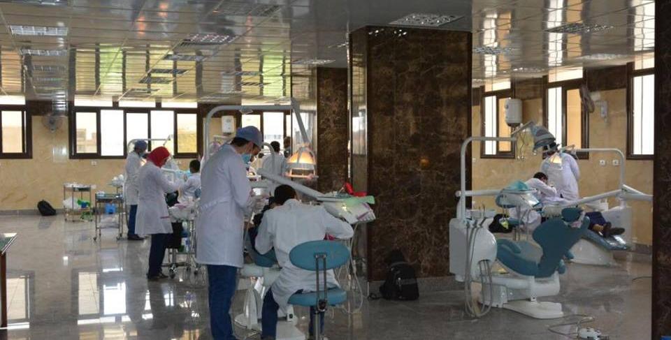 بتكلفة 20 مليون جنيه.. افتتاح مستشفى طب أسنان بجامعة أسيوط