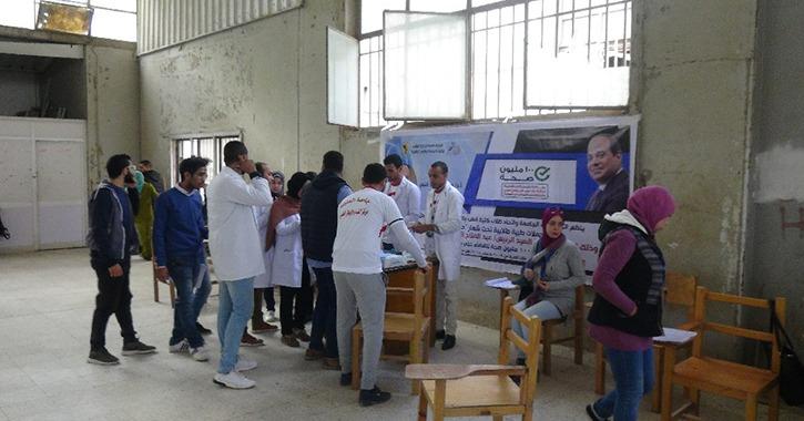 «حلل واطمن».. اتحاد طلاب جامعة المنيا يطلق حملة للكشف على فيروس C