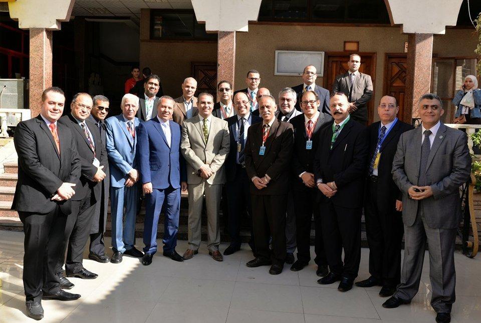 رئيس جامعة المنصورة يشارك في افتتاح المؤتمر التاسع لأطباء الأسنان بالدقهلية
