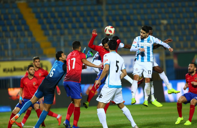 تفاصيل أزمة مباراة الأهلي وبيراميدز.. المارد الأحمر يستغيث