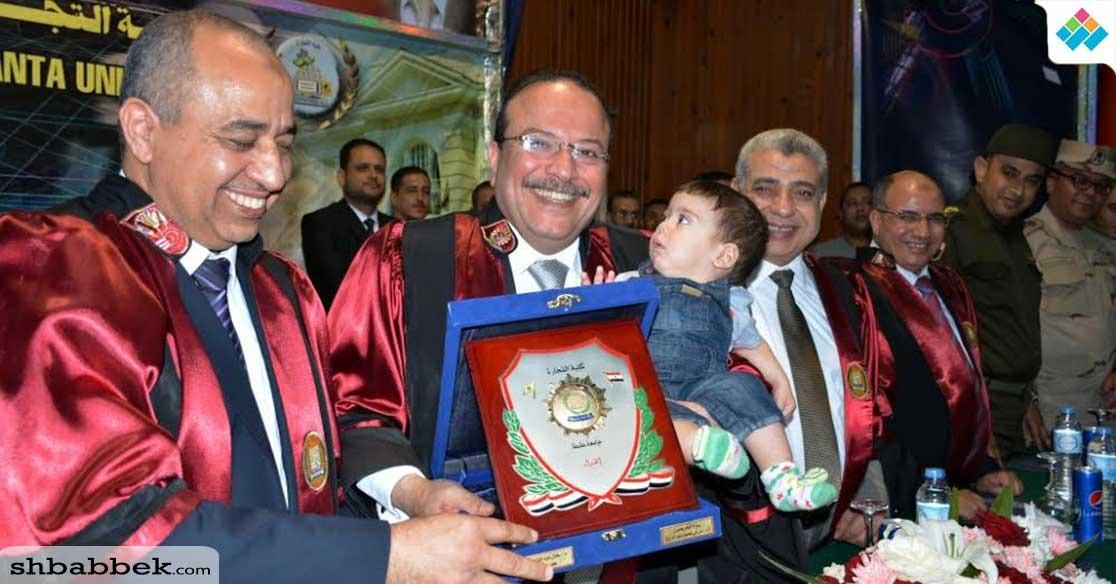 كلية التجارة جامعة طنطا تحتفل بتخريج دفعة الدكتور مرعي عبد الرازق